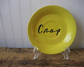 Crap plate by Vintage Silver