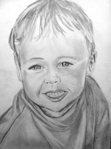 Daniel Barden, drawn by Dana Benz